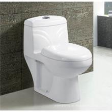Badezimmer Keramik S-Trap P-Trap Washdown einteilige Toilettenschüssel in weißer Farbe