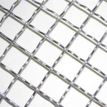 Grueso 2 5 12 18 20 Malla 304 Malla de alambre prensada de acero inoxidable utilizada para la mía