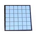 Fábrica da china cor sólida vidros azulejos de cerâmica azul design