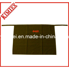 100% Cotton Promotion Embroidery Kitchen Half Waist Apron
