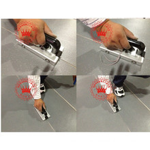PVC Flooring Installation Tools Welding Gun and Slot Machine Used for Fix Installation