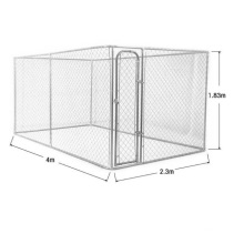 High quality outdoor use hot dipped galvanized large animal cage dog kennel