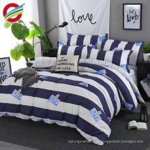 tela plana de la hoja de la cama 3d dispersa rinted bedding sets