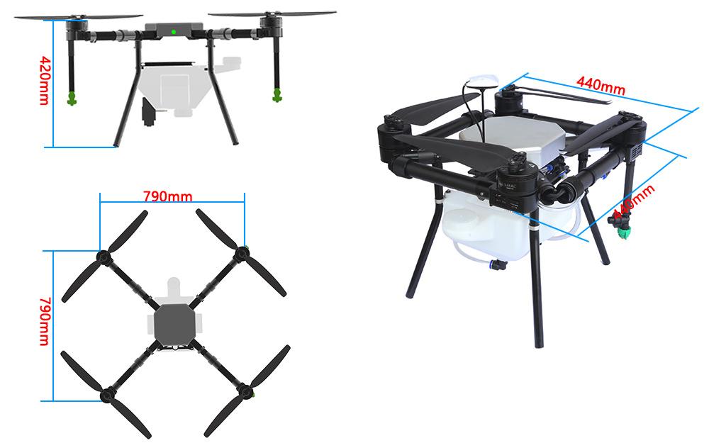 X1100-5kg-Sprayer Drone