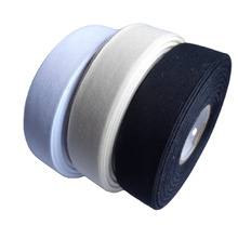 Wholesale clothing high quality woven edge cotton tape washing label