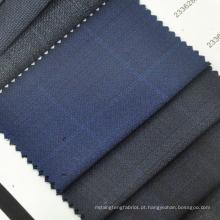 Tecido têxtil de lã anti-estática para mens suit