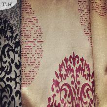 2016 100% poliéster tejido de punto utilizado para cortinas especialmente con patrón elegante (FBC30003)
