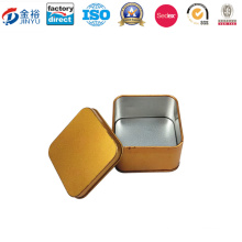 Square Shaped Metal Wedding Box for Candy Packaging