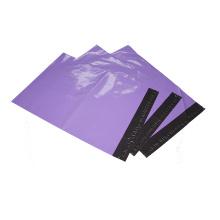 Bolsa de correo de color cuatomizado LDPE con sello adhesivo