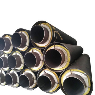 Yellow Jacket Thermal Insulation Anticorrosion Steel Pipe