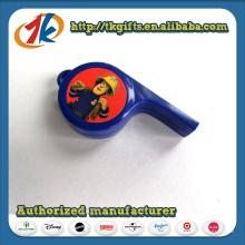 Plástico promocional legal apito de brinquedo com preço barato