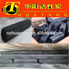 Hexagonal mechanism charcoal /sawdust charcoal for BBQ (8500kcal/3.5-5hs burning time)