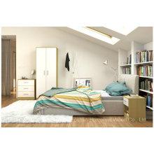 Ensemble de nouvelle chambre design en fini brillant (HF-BL023)