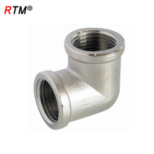 L 17 4 12 brass fitting female elbow 90 degree elbow Brass threaded fitting