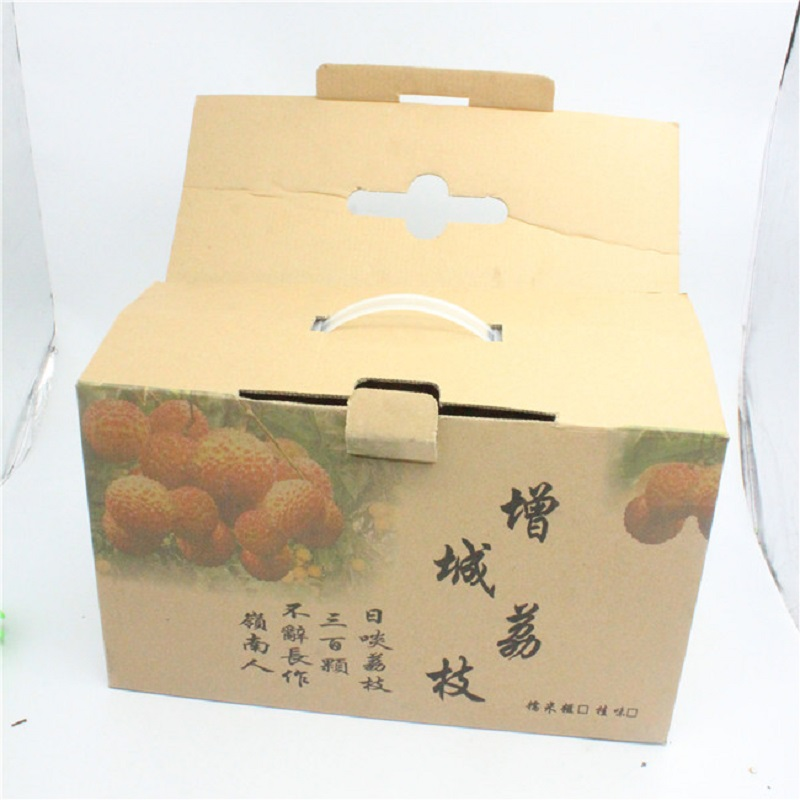 PRINT WITH LOGO CARTON PACKING BOX