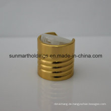 Schraubkappe aus Kunststoff oder Aluminium