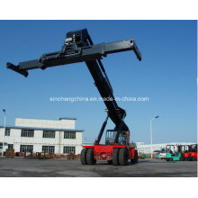 Logistics Machinery Reach Stacker for 5 Empty Containers Crs450abz5