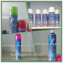 carnival snow spray Manufactured in China