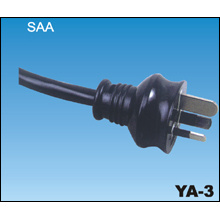 3 Pins australische SAA Netzkabel YA-3