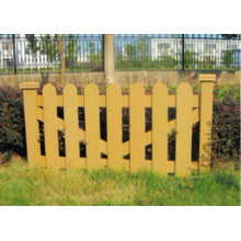 1000*600 2014 Eco-Friendly Hot Sale Cheap Outdoor Wood Plastic Composite WPC Fence