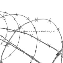Amazon China Leading Factory Supply Galvanized Barbed Wire Mesh