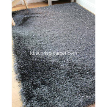Polyester Two Yarn Mix Shaggy Carpet