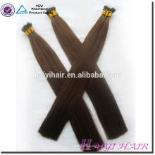 Remy doble rindió el precio de fábrica completo de los extremos mini 30 pulgadas nano anillo remy extensión del pelo