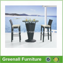 Outdoor Used PE Rattan Garden Furniture Bar Chair