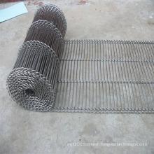 Stainless steel wire conveyor belt mesh