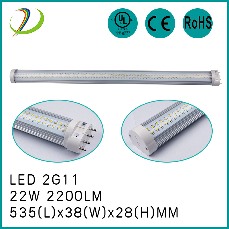 Lámpara de tubo 18W LED 2G11