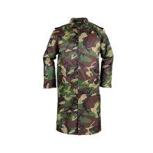 Yj-6025 Camouflage Lange Regen Mac Mäntel Jungen Regenmantel