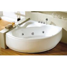 Shell Form Einfache Whirlpool Massage Badewannen