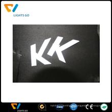 etiqueta de transferência de calor reflexiva para tecido