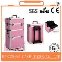 hair dressing make up trolley case,make up trolley case,aluminum make up trolley case