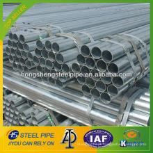 ASTM A106 Gr.B tubo de aço galvanizado