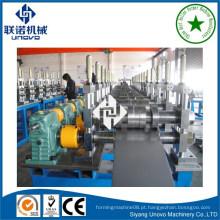 Máquina de moldagem de rolo Purlin de estrutura metálica C / Z / U