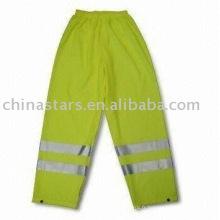 EN471 Hi visibilité Vêtements de pluie à sécurité réfléchissante