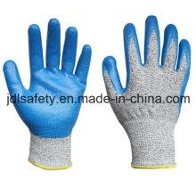 Вырезать устойчивость работы перчатку с нитрила (ND8032)