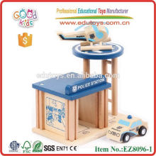 Police Station Wooden Toys Children's Game