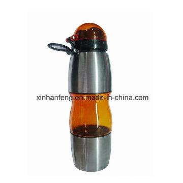 Botella de agua portable de la bicicleta para la bici (HBT-013)