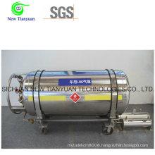 150L Nominal Volume Cryogenic Cylinder for Vehicle