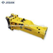 Machine hydraulique de briseur de marteau hydraulique montée par excavatrice du prix usine JSB400