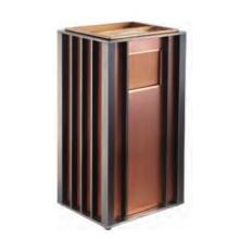 Cubo de basura cenicero cuadrado de lujo cuadrado (DK173)