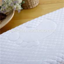 custom hotel cotton floor mats