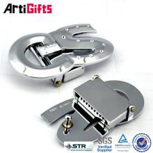 Factory direct sale rectangle belt buckle parts