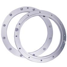 Brida de aluminio industrial para piezas de aviones