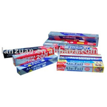 wrapping aluminium foil