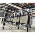 Equipo para tratamiento de superficies metálicas