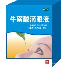 Таурин глазные капли, сульфат цинка и глазные капли аллантоина