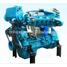 Weifang 6-Cylinder Motor diesel marino 84kw para la venta